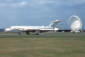 Warbird Picture - RAF Victor in anti-flash white