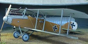 Warbird Picture - Scale model of an Albatros C.X