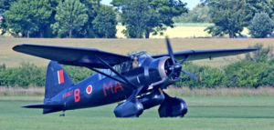Warbird Picture - Westland Lysander Mk III(SD), the type used for special missions into occupied France during World War II.