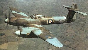 Warbird Picture - Westland Whirlwind in a rare Second World War colour photograph