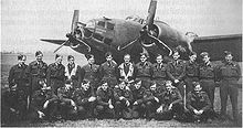 Airplane Picture - 487 Squadron NCOs at RAF Methwold early 1943