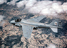 Airplane Picture - An A-6E Intruder flying over Spain during Exercise Matador.