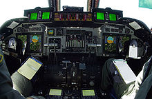 Airplane Picture - The upgraded glass cockpit of the C-141C variant