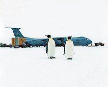 Airplane Picture - C-141 participating in Operation Deep Freeze