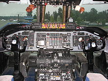 Airplane Picture - Cockpit of early C-141 on display at McChord AFB