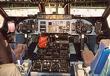 Airplane Picture - Instrument panel of a C-5A