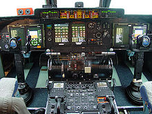 Airplane Picture - New instrument panel for C-5 as part of AMP program