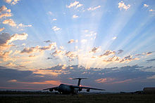 Airplane Picture - A C-5 Galaxy from the Air Force Reserve Command's 433rd Airlift Wing