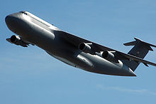 Airplane Picture - A C-5 from Robins AFB