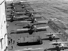 Airplane Picture - T3M-2s and Curtiss F6Cs on the deck of the carrier USS Lexington