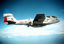Airplane Picture - An EA-6B patrols the skies over Bosnia and Herzegovina, 1995.