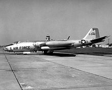 Airplane Picture - EB-57A parked at Scott AFB, 1969.