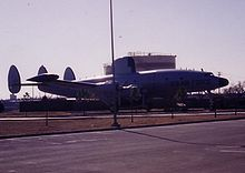Airplane Picture - EC-121 on display at Tinker AFB