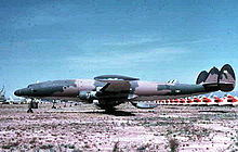 Airplane Picture - A former EC-121R Batcat at AMARC, Davis-Monthan AFB, Arizona.