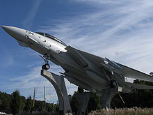 Airplane Picture - An F-14A on display at Grumman Memorial Park in New York.