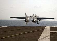 Airplane Picture - The last American F-14 to takeoff from a US Navy carrier, USS Theodore Roosevelt on 28 July 2006