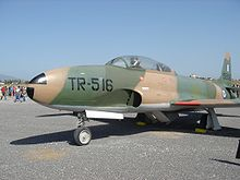 Airplane Picture - A T-33 Shooting Star of the Hellenic Air Force