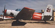 Airplane Picture - AF-2S Guardian in the water-bombing markings of Aero Union on display at the Pima Air Museum, Tucson, Arizona in April 1991