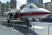 Airplane Picture - F-14D at the Intrepid Sea-Air-Space Museum