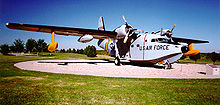 Airplane Picture - HU-16E on static display at Dyess AFB, TX