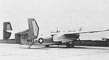 Airplane Picture - The XTF-1W prototype.