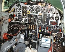 Airplane Picture - X-29 cockpit