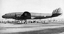 Airplane Picture - The first Lockheed Constellation on January 9, 1943.