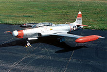 Airplane Picture - Lockheed NT-33A USAF