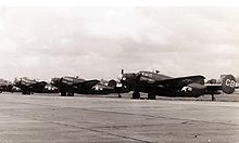 Airplane Picture - PV-2s of VPB-136 at NAS Whidbey Island, 1945-46.