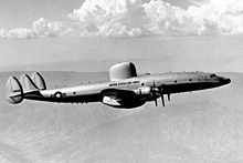 Airplane Picture - The first USAF RC-121C, 1955.