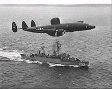 Airplane Picture - An Atlantic barrier WV-2 of VW-15 off Newfoundland in 1957.