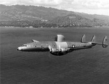 Airplane Picture - The third production WV-2 in flight in 1954.