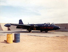 Airplane Picture - Patricia Lynn RB-57E at Da Nang, January 1964