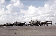 Airplane Picture - PV-1s of VPB-147 in the Caribbean in 1944.