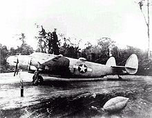 Airplane Picture - A USMC PV-1 night fighter from VMF(N)-531 in the Solomons, 1943.