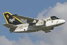 Airplane Picture - VX-30's S-3B, callsign