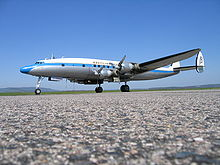 Airplane Picture - Super Constellation (C-121C) during pilot training in Epinal - Mirecourt, France