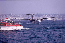 Airplane Picture - A VP-40 SP-5B after the last operational U.S. Navy flight of a Marlin in 1967