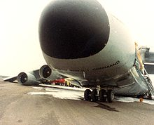 Airplane Picture - C-5A after crash landing at Shemya AFB, AK, July 1983