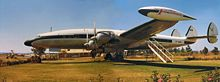 Airplane Picture - Super Constellation at Charles Prince Airport, Rhodesia (now Zimbabwe) in 1975. Used as a flying club headquarters.