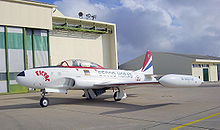 Airplane Picture - T-33 Portuguese Air Force