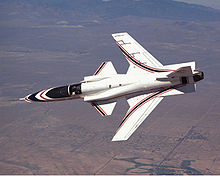 Airplane Picture - The X-29 in flight