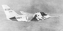 Airplane Picture - The YS-3A prototype.