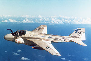 Warbird Picture - A-6E Intruder of Attack Squadron 52 (VA-52), circa 1980