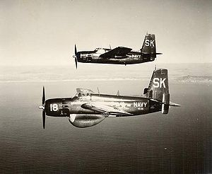 Warbird Picture - Hunter-Killer team of AF-2W (lower) and AF-2S