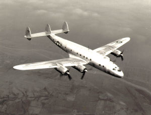 Warbird Picture - A USAF C-69, the military version of the Constellation
