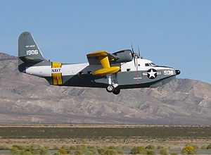 Warbird Picture - Restored Navy UF-1/HU-16C BuNo 131906, built June 1953