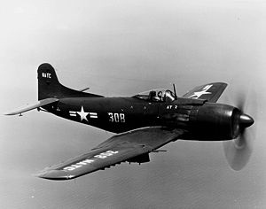 Warbird Picture - An AM-1 of the U.S. Naval Test Center