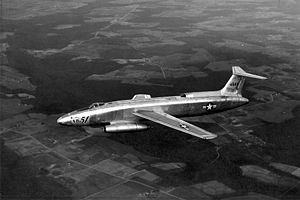 Warbird Picture - First prototype, 46-685 during testing