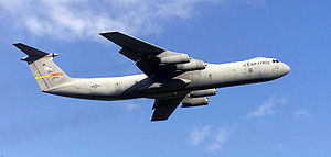 Warbird Picture - A USAF C-141C